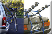 van and trunk bike racks