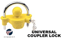 Cequent Tow Ready Universal Coupler lock model 63226 gorilla guard trailer tongue locks