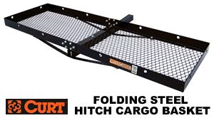 Curt 18121 Steel hitch cargo basket carriers