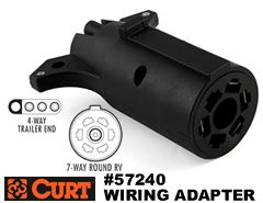 curt-57240-trailer-wiring-adapter-7-RVflat-4-flat-240 Y Plug Trailer Wiring Harness Adapter on