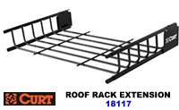 Curt Roof Rack Extension 21 inch extender for Curt 18115