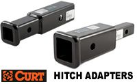 Curt Hitch Adapters and Receiver converters model 45770 and 45785 old part d-170 and d-185