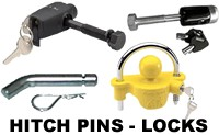 Hitch Accessories Locking Hitch Pins Adapters