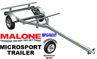 Malone MPG460XT Microsport Kayak Trailer with Aluminum Alloy Rims