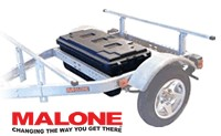 Malone MPG481 Storage trunk for Microsport trailers.