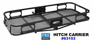 "Pro-Series 63153 Hitch Cargo Carrier 24"" x59"" x 6"""