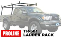 Proline TR-501 Pickup Truck Bed Ladder rack - over the cab contractor racks