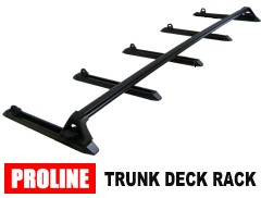 Proline Trunk Deck Racks Car Trunk Lid Deck Racks And