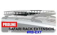 Proline RB-EXT Safari Roof Rack Extension 20 inch extender for Proline RB-4045
