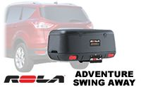 Rola Adventure Swing Away Cargo Box and Cargo Tray for 2 inch hitch model 59109