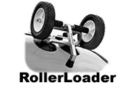 Rollerloader ABB-RL kayak roller load assist attachment for car roof racks