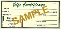 $300 Gift Certificate - Product Image