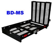 B-Dawg Mobility Scooter and Wheelchair Hitch Carrier - Product Image