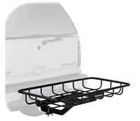 Cargo Carrier - FlatSwing Swingaway Hitch Mounted Cargo Basket - Product Image