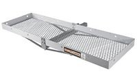 Curt 18100 Folding Aluminum Hitch Mounted Basket Cargo Carrier - Product Image