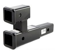 """Curt 45792 Dual 2"""" Hitch Receiver and extension. - Product Image"""