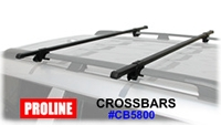 Proline Roof Rack Railing CrossBars - Product Image