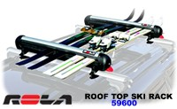 Rola 59600 Roof Top Ski - Snowboard Rack - Product Image