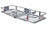 SportRack SR9851 Vista Folding Hitch Mounted Cargo Basket Carrier - Product Image