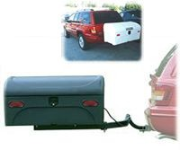 StowAway2 Swing Away Hitch Mounted Cargo Carrier - Product Image
