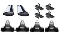 Thule 480R AeroBladeTraverse Roof Rack Package - Product Image