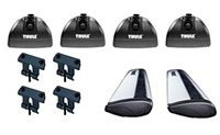Thule Podium WingBar Roof Rack Package - Product Image