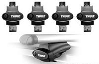 Thule Rapid Crossroads Tower Feet - (4) - Product Image