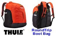 Thule Roundtrip Boot Bag Orange - Black - Product Image