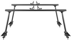 Thule TracRac TracOne 27000XTB Black Pickup Truck Bed Rack - Product Image