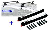 Universal Roof Rack & Rola 59600 ski rack package - Product Image