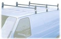 Van Ladder Roof Rack 3 Bar - Product Image