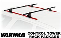 Yakima Control Tower Roof Rack Package - Product Image