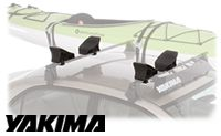 Yakima Landshark Kayak Roof Rack Saddles - Product Image