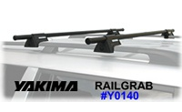 Yakima RailGrab Roof Rack Crossbar Package - Product Image
