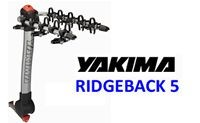 Yakima Ridgeback 5 Bike Hitch Mounted Bicycle Rack - Product Image