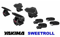 Yakima SweetRoll Kayak Roof Rack Carriers - Product Image
