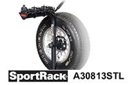 SportRack A30813STL Spare Tire Mount Bicycle Carrier
