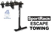 "SportRack Towing 4 Bike Trailer Hitch Mounted Racks model A30404TW200 with tilt down feature for 2"" receivers"