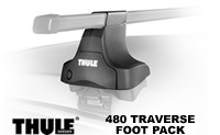 Thule 480 Traverse Foot Pack: set of 4 Traverse roof rack towers