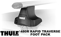 Thule 480R Rapid Traverse Foot Pack : set of 4 Rapid Traverse roof rack towers