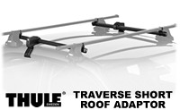 Thule 487 Traverse Short Roof Rack Adaptor for 2 door cars