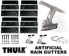 Thule 542 Artificial Rain Gutter Mounts and Hardware.