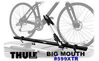 Thule 599XTR Big Mouth Rooftop Car Bike Racks and Carriers