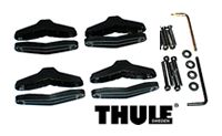 Thule 753-3998 retorfit ski and snowboard rack mounting hardware kit