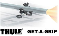 Thule 839 Get a Grip Mast, Paddle and Oad holder for car roof rack mounting