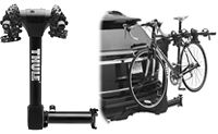 Thule 9031XT Vertex Swing away hitch mounted bike racks carry up to 4 bicycles model 9031