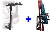 Thule 9033 Tram Hitch ski snowboard-carrier and Thule 958 Parkway bike rack package