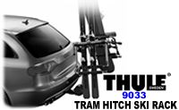 Thule 9033 Tram hitch snowboard and ski rack attachment carriers