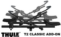 Thule 9046 T2 Classic Two Bike Add-on attachment for the Thule 9044 bike carrier only