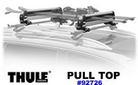 Thule 92726 PullTop Ski and Snowboard Racks new. Thule Pull tp slide out snow sport carrier racks